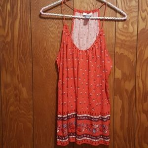 Old Navy Red Tank Top Sz. M